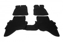 Глубокие коврики в салон Ford Ranger 2006- полиуретановые L.Locker