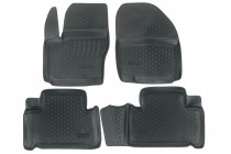Глубокие коврики в салон Ford S-Max полиуретановые L.Locker