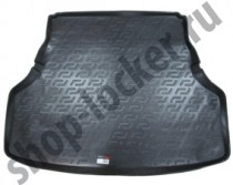Коврик в багажник Kia Quoris 2012-  полиуретановый L.Locker