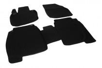 Глубокие коврики в салон Honda Civic HB 5D/3D 2006-2012 полиуретановые L.Locker