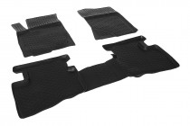Глубокие коврики в салон Hyundai Elantra 2007-2011 полиуретановые L.Locker