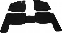 Глубокие коврики в салон Hyundai Santa Fe 2006-2010 полиуретановые L.Locker