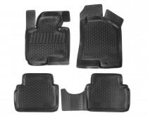 L.Locker Глубокие коврики в салон Hyundai ix35 2010- полиуретановые