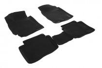 Глубокие коврики в салон Hyundai Veloster  2011- полиуретановые L.Locker