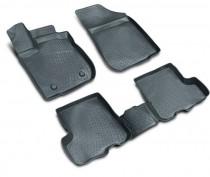 Глубокие коврики в салон Isuzu D-Max II Pickup  2011- полиуретановые L.Locker
