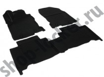 L.Locker Глубокие коврики в салон Lexus NX 2014- полиуретановые