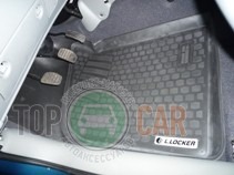 L.Locker Глубокие коврики в салон Renault Kangoo 1997-2007 передние полиуретановые