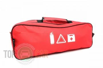 Beltex Сумка-органайзер 1 отделение красная 44,8х11,8х18,8 см