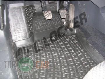 Глубокие коврики в салон Volkswagen Jetta 2005-2010