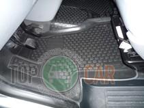 L.Locker Глубокие коврики в салон Volkswagen Transporter/Caravelle (02-) передние  полиуретановые