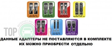 """ALCA Щетка стеклоочистителя бескаркасная SUPER FLAT 23""""/580мм"""