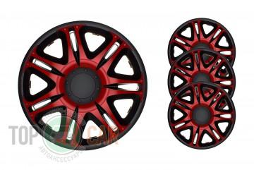 J-TEC (Jacky Auto Sport) Колпаки Nascar Red&Black R15