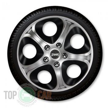 J-TEC (Jacky Auto Sport) Колпаки Enfiniti Silver&Black R13
