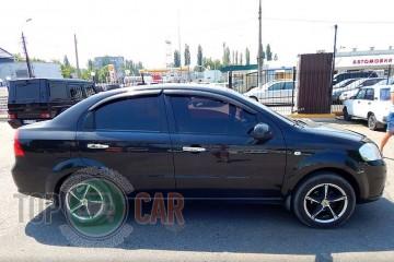 Auto Clover Дефлекторы окон Chevrolet Aveo sedan 2006-2012/ZAZ Vida