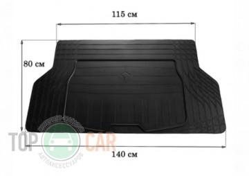 Stingray Резиновый универсальный коврик в багажник (размер S 140см*80см)