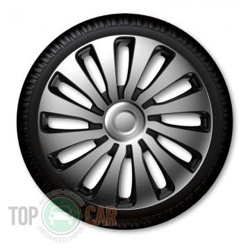J-TEC (Jacky Auto Sport) Колпаки R15 Sepang silver&black