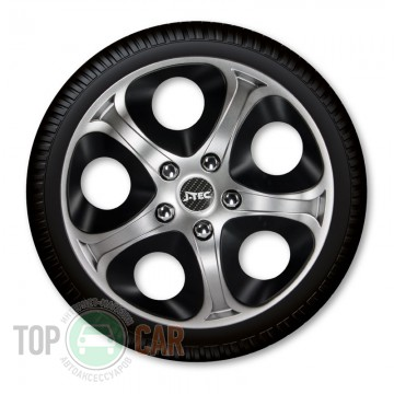 J-TEC (Jacky Auto Sport) Колпаки Enfiniti Silver&Black R14