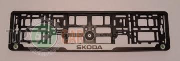 Carmotion Рамка под номерные знаки Skoda