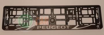 Carmotion Рамка под номерные знаки Peugeot