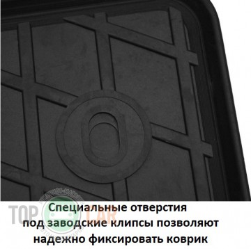 Stingray Коврики резиновые Chery Tiggo 2 2016- передние