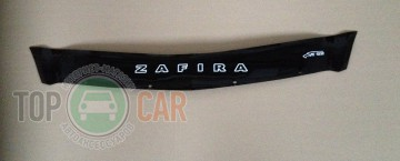 VT52 Дефлектор капота Opel Zafira B 2006-2011 короткий
