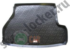 L.Locker Коврик в багажник BMW 3 series (E46) Touring 1998-2005 полимерный