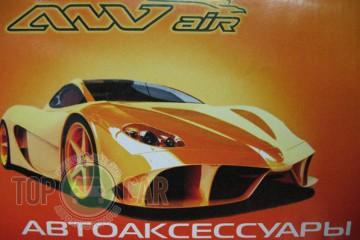 ANV air Дефлекторы окон Hyundai Santa Fe 2012-2018