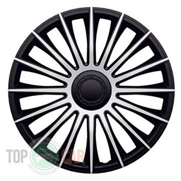 J-TEC (Jacky Auto Sport) Колпаки Austin Silver&Black R15