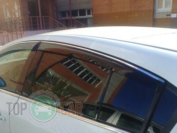 Cobra Tuning Дефлекторы окон Mercedes-Benz A-Class W177 с хромированным молдингом