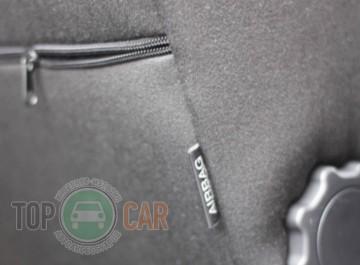EMC Оригинальные чехлы Skoda Octavia  А5 (combi) (3 подголовника) 2008-2013
