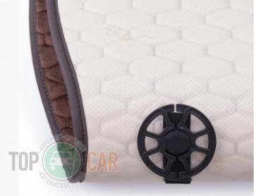 Elegant Универсальные накидки на сидения Palermo темно-коричневый
