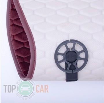 Elegant Универсальные накидки на сидения Palermo красные передние