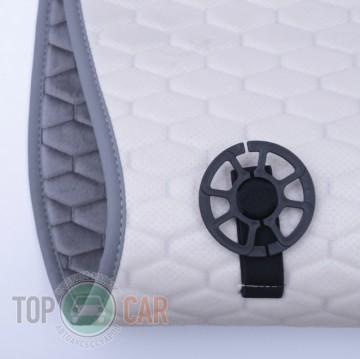 Elegant Универсальные накидки на сидения Palermo серые передние