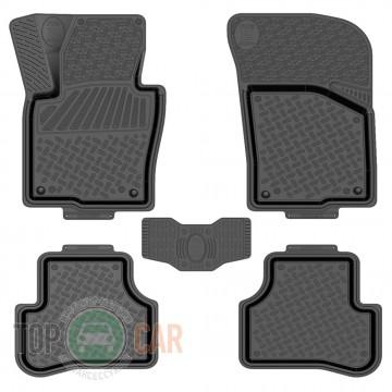 Rezkon Глубокие резиновые коврики VW Passat B6/B7