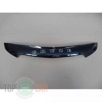 Дефлектор капота Chevrolet Cruze 2009- короткий