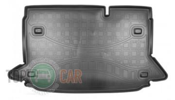 Nor-Plast Коврик в багажник Ford EcoSport 2018- резино-пластиковый