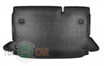 Nor-Plast Коврик в багажник Ford EcoSport 2018- полиуретановый
