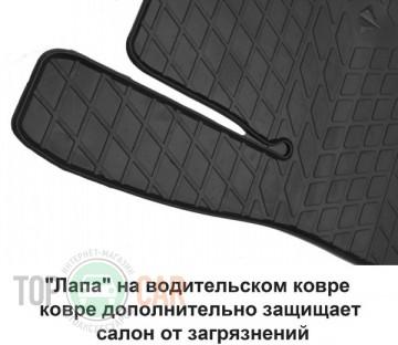 Stingray Коврики резиновые Skoda Yeti 09-