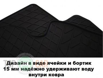 Stingray Коврики резиновые VW Caddy 2004-10-15 передние