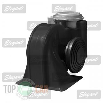 Elegant Сигнал звуковой «улитка» 2-тоновый Nautilus 12V черный