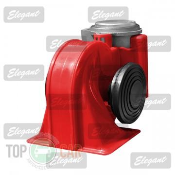 Elegant Сигнал звуковой «улитка» 2-тоновый Nautilus 12V красный