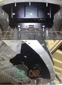 Кольчуга Защита радиатора BMW X1 E84 2009-2015
