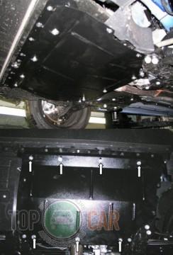 Кольчуга Защита двигателя Fiat Doblo II поколение 2010-