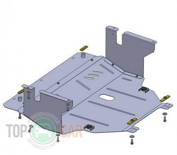 Защита двигателя Opel Vivaro 2001-