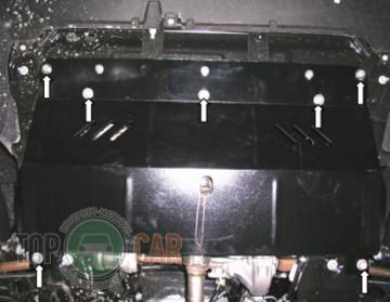 Кольчуга Защита двигателя Peugeot Expert 2007-