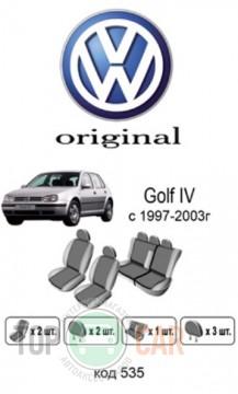 Оригинальные чехлы VW Golf 4