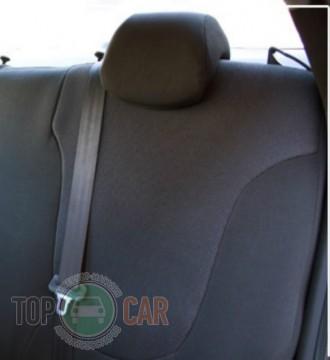 EMC Оригинальные чехлы VW Polo Sedan 2010- цельная спинка