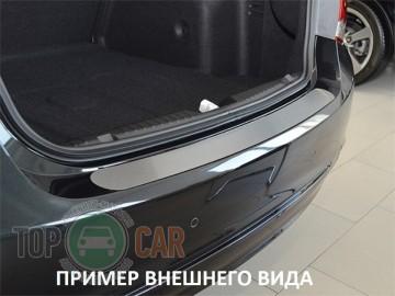 Накладка на задний бампер Chevrolet Aveo 5D 2002-2006