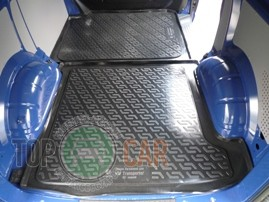 Коврик в багажник Volkswagen Transporter T4 1990-2002 передняя ч