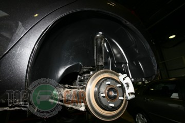 Unidec Защита колесных арок Mitsubishi Lancer X